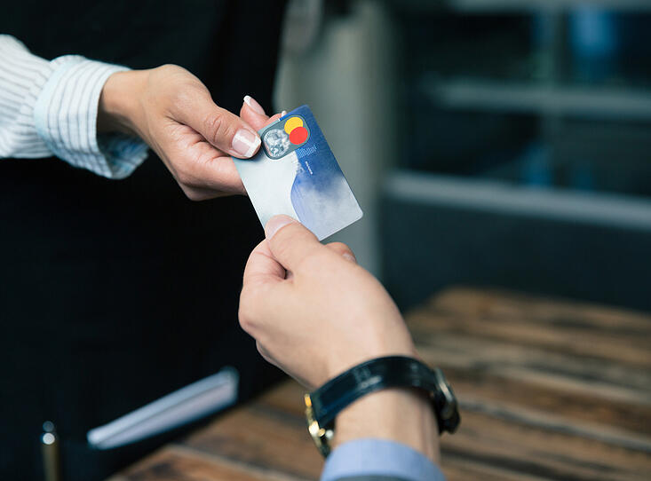Using a credit card
