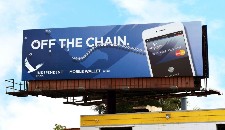 Off the Chain Billboard Concept
