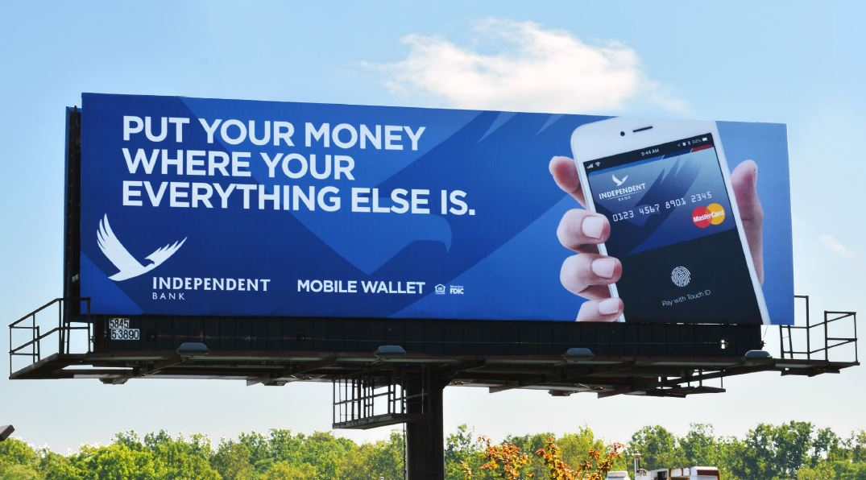 Put Your Money Billboard Concept