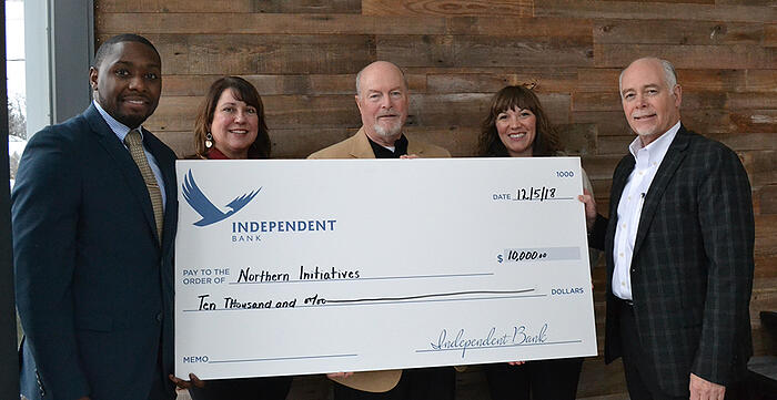 IB donates $10,000 to Norther Initiatives