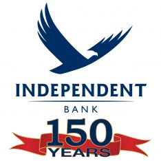 INDEPENDENT BANK 150 Year